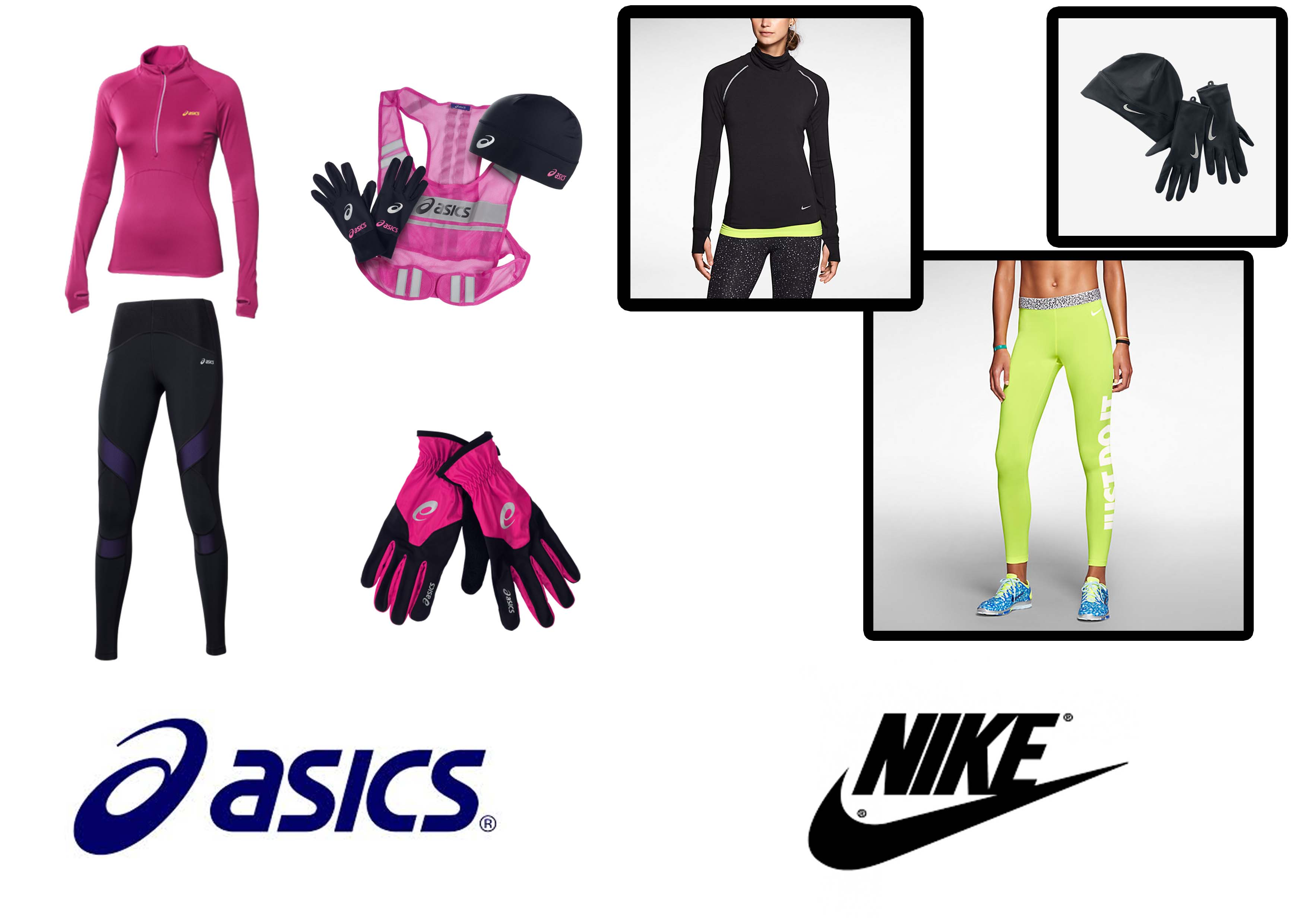 abbigliamento running donna nike