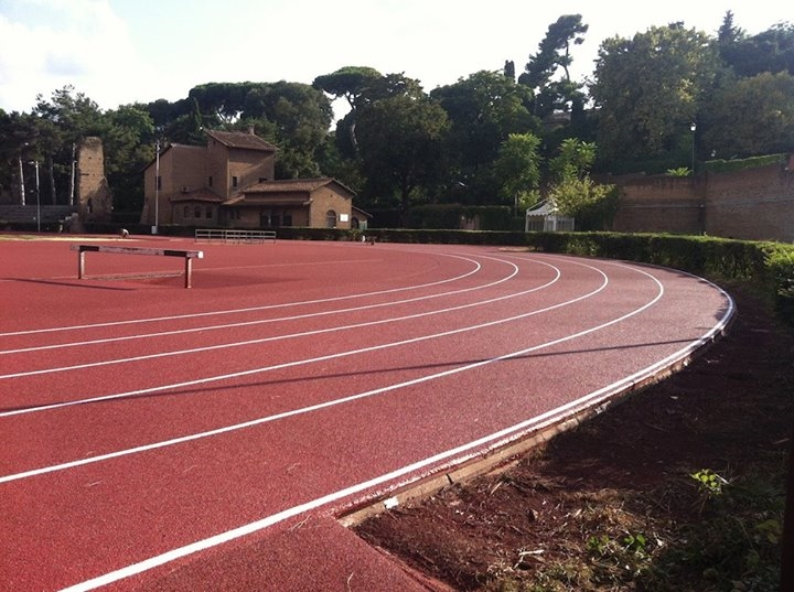 Piste di atletica leggera : lo Stadio Nando Martellini (Terme di Caracalla) (3/5)